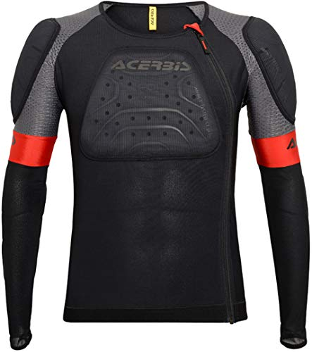 Acerbis 0023292.090.067 Body Armour X-Air Jacket L XL, Schwarz, L-XL