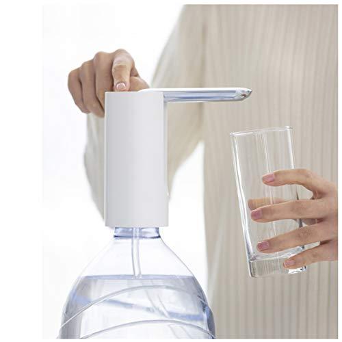 LXLTL Dispensador De Agua Eléctrico Portátil Plegable Extracción De Agua con Un Clic Dispensador De Agua Eléctrico Recargable De USB para Camping, Escuela, Oficina, Hogar