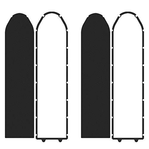 DAUERHAFT Zócalo Anillo Impermeable Accesorio Ligero para Scooter Zócalo de algodón de Espuma Anillo Impermeable Práctico, para Base de Scooter