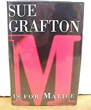 M Is For Malice by Sue Grafton 1996 HB/DJ *Signed First Edition*