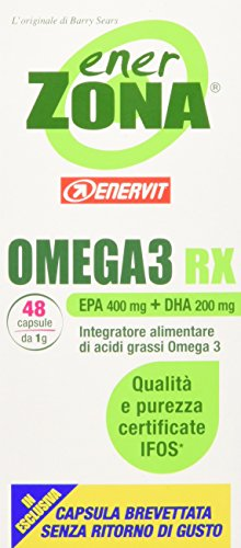 ENERVIT Enerzona Enerzona Omega 3 Rx 48 Capsule