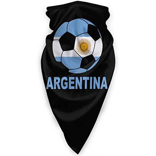Argentina Soccer Hombres Mujeres Bandanas,Bufanda Multifuncional,Magic Diadema,Diademas para Exteriores,Paño De Manguera