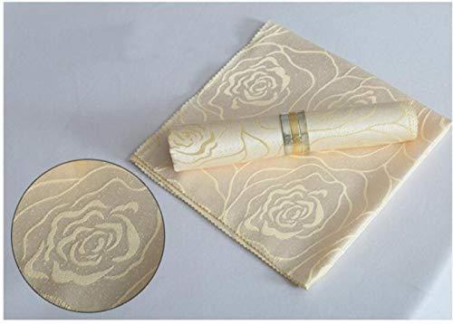 Fijnere 10 stks bruiloft decoratie polyester vierkante servetten voor bruiloften hotel banket vouwen doek thuis zakdoek, color11