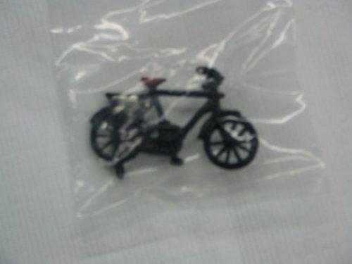 Fahrrad schwarz, ca. 5 x 3 cm