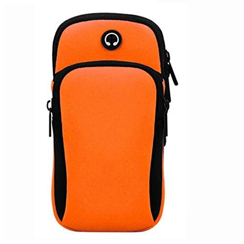 Caso brazo de Del Deporte diadema bolsa de montaje del brazo de teléfono externo bolsa impermeable De Gimnasio Sendero y funcionamiento de la bolsa de la caja del brazal for el teléfono 6 pulgadas