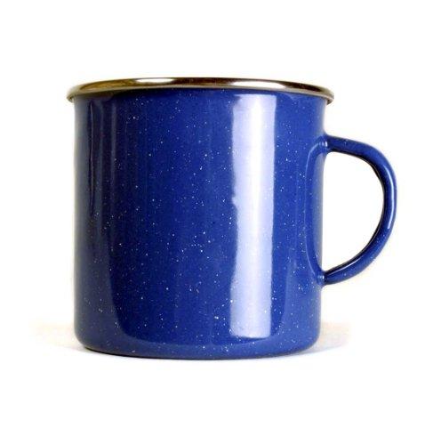 Relags Emaille Tasse, Blau, 550 ml