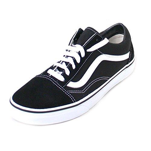 Vans Old Skool, VD3HY28, Unisex-Erwachsene Sneakers, Schwarz (BlacK), 50 EU