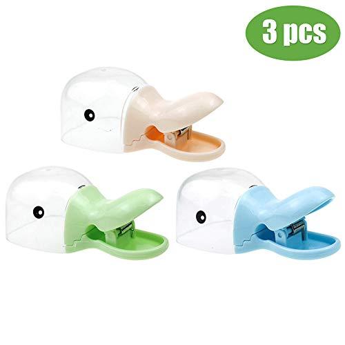 Parkomm Entenschnabel Löffel, 2-in-1 Entenschnabel geformte Schaufel Lebensmittelclip für Küche,Büro,Garage