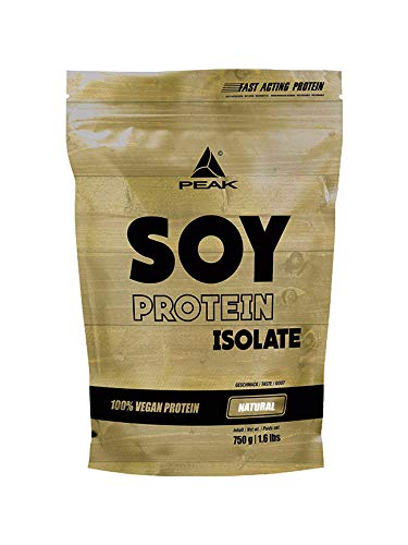 PEAK Soy Protein Isolate Natural 750g   NEW DESIGN