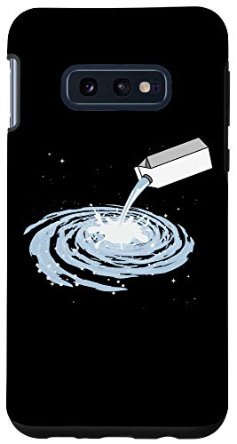 Galaxy S10e Milkyway Milk Carton Universe Space Galaxy Stars Moon Gift Case