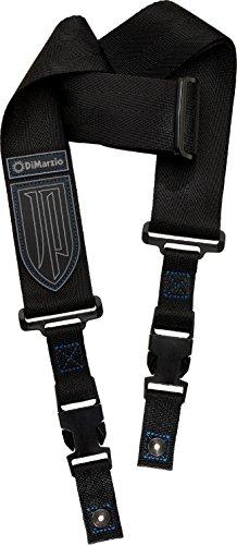DiMarzio DD2200JPBKBL-Guitar Strap, Black/Blue