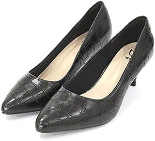 Scarpin Dalí Shoes Bico Fino Salto Fino Croco
