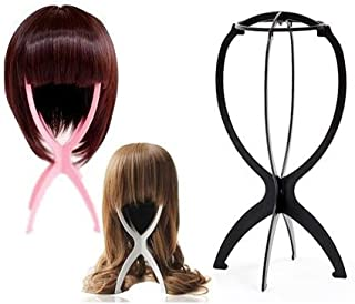 World Pride Folding Stable Durable Wig Hair Hat Cap Holder Stand Holder Display Tool