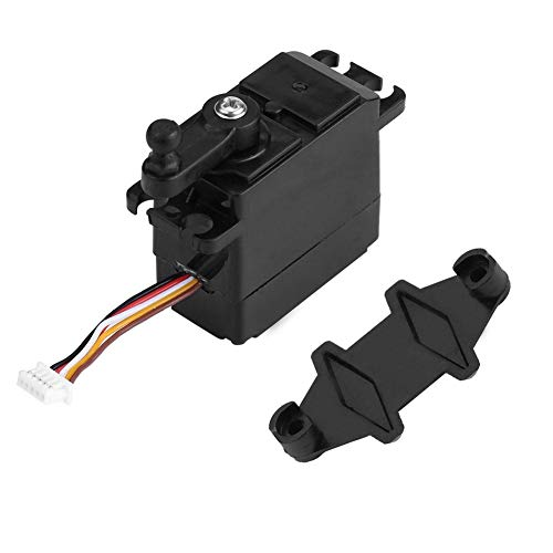 Tbest RC Mini Servo, RC Model Micro Servo 5-Wire Steering Analog Servo RC Vehicle Accessory