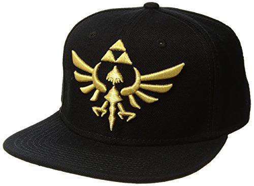 Nintendo Zelda Black Snapback Baseball Cap