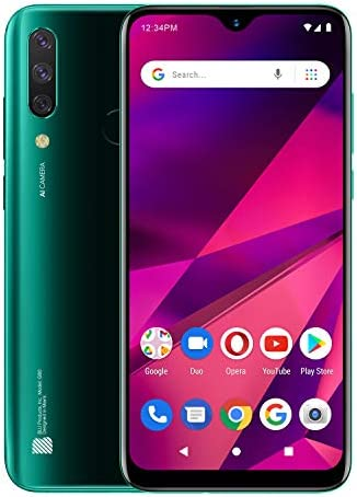 BLU G80 6 5 HD Infinity Display Triple Camera 64GB 3GB RAM Green product image