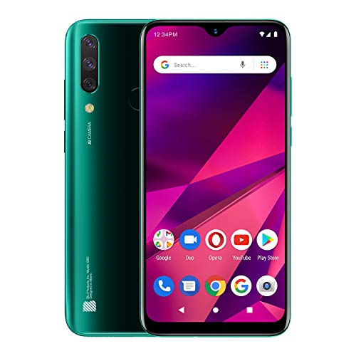 "BLU G80 – 6.5"" HD+ Infinity Display, Triple Camera, 64GB+3GB RAM -Green"