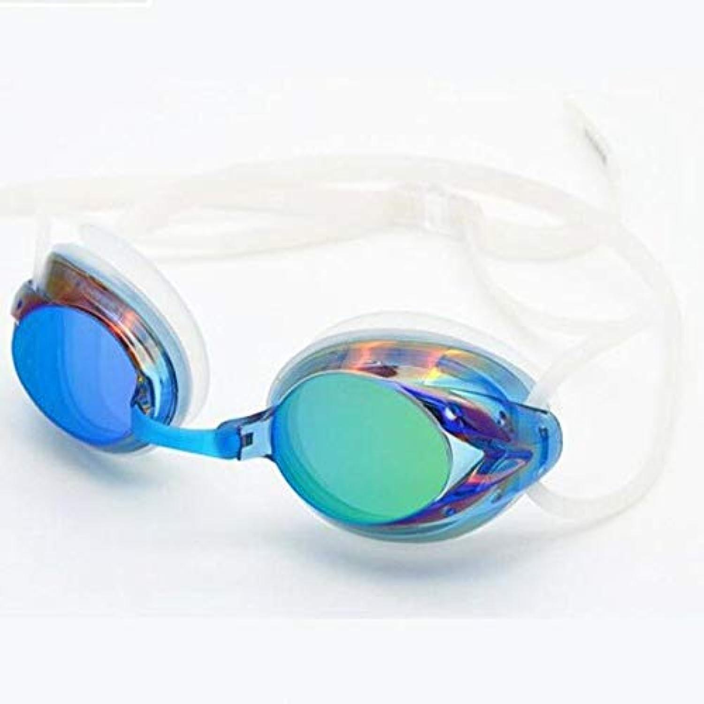 E, Other   2016 Electroplating UV Waterproof Antifog Swimwear Eyewear Swim Diving Water Glasses Gafas Adjustable Swimming Goggles Women Men