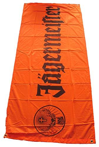 Jägermeister - Werbebanner - Werbespannband - Orange mit Schriftzug - ca. 180 x 78 cm
