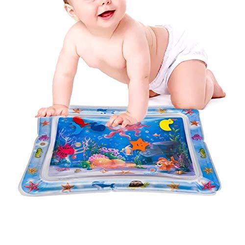 Tapis gonflable gonflé pour bébé, jouet de matelas de jeu de coussin gonflable de l'eau épaissie, jouets pour le coussin de coussin de coussin de l'eau de Prostrate Timer