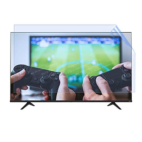 32-75 Pulgadas TV Película Anti deslumbramiento Interior y Exterior OLED LED LCD TV Protector de Pantalla Mate Película para TCL/Samsung/Toshiba/Sony/LG/HISENSE,55' 1221 * 689