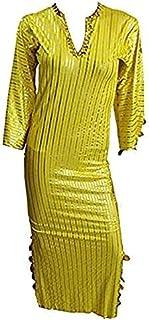 Belly Dance Nancy Galabeya Dress Costume Stretchy Baladi Saidi