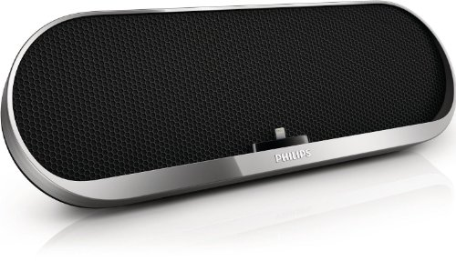 Philips Lightning Docking Speaker with Bluetooth (Silver)