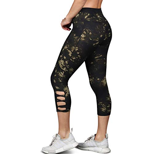 Print Criss Cross Active Leggings