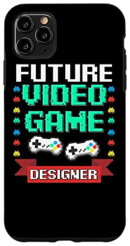 iPhone 11 Pro Max Future Video Game Designer Gift For Kids Cool Gaming Gamer Case