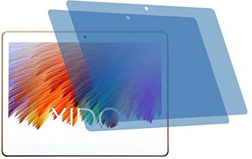 4ProTec I 2X Crystal Clear klar Schutzfolie für Xido X110 3G 2017 Premium Displayschutzfolie Bildschirmschutzfolie Schutzhülle Displayschutz Displayfolie Folie
