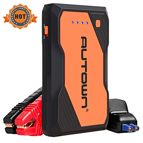 %34 OFF! AUTOWN Jump Starter, 800A Peak 10000mAh Battery Jumper Starter with USB Quick Charge, 12V A...