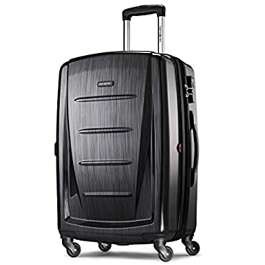 Samsonite Winfield 2 Hardside 24  Luggage, Brushed Anthracite