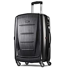 "28"" Spinner luggage maximizes your packing power and is the ideal checked bag for longer trips Packing dimensions: 28.0"" X 19.75"" X 12.5"", overall dimensions: 31.0"" X 20.0"" X 12.75"", weight: 11.5 pounds 10 year limited warranty: Samsonite products ar..."