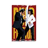 DSGFR Póster de película clásica de Pulp Fiction Dancing (30 x 45 cm)
