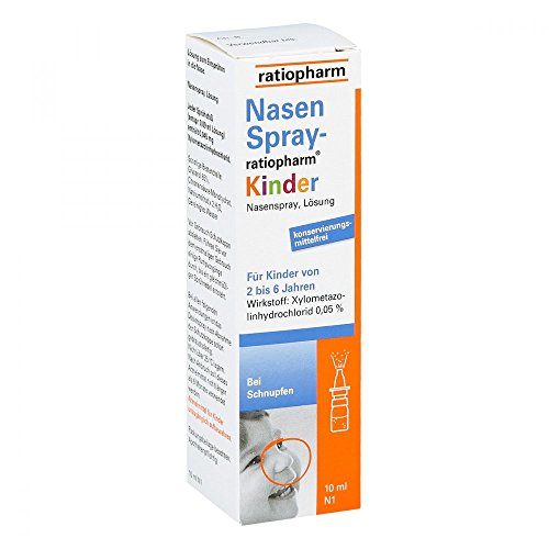 Nasenspray-ratiopharm Kinder, 10 ml