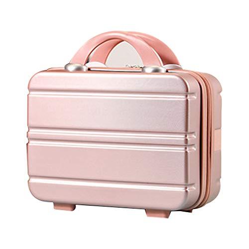 MENGSHI Maletín de viaje para equipaje de mano, pequeño, bolsa de transporte para maquillaje, resistente y práctica.