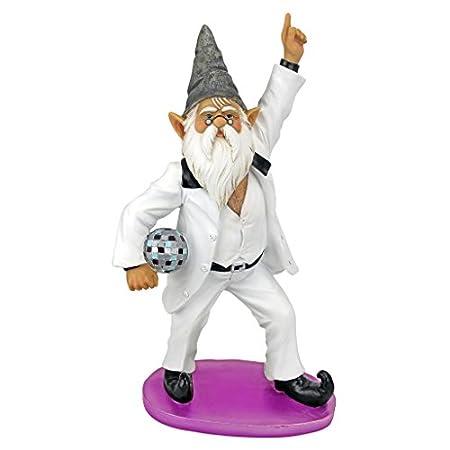 Seventies Disco Gnome Statue