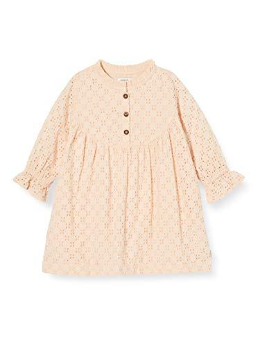 Noppies Baby-Mädchen G Dress LS Dundee Kinderkleid, Cameo Rose-P588, 68