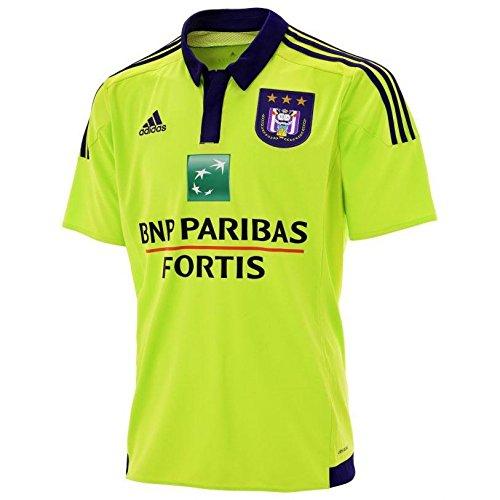 Royal Sporting Club Anderlecht 15/16 Away S/S Football Shirt, Größe M, Farbe Lime
