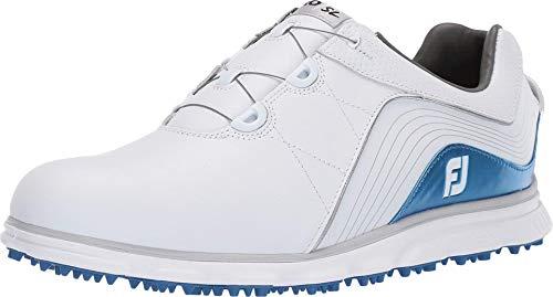 Footjoy Herren Pro/sl Golfschuhe, Weiß (Blanco/Azul 53274w), 43 EU
