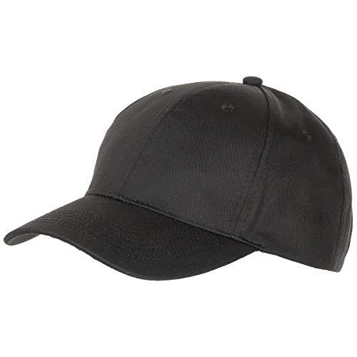 MFH US Army Baseball Cap Mütze Baseballmütze Baseballcap Tarnmuster Schirmmütze verschiedene Farben (Schwarz)