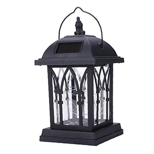 DierCosy Solar del jardín Linterna LED Parpadeo Vela de la lámpara al Aire Libre Impermeable de la luz de la Fiesta de jardín Decoraction