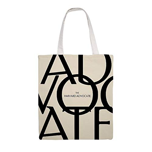 Great Martin Canvas Tote Bag Advocate New Yorker Style Eco Friendly Reusable Grocery Gift Friend Shoulder Bag