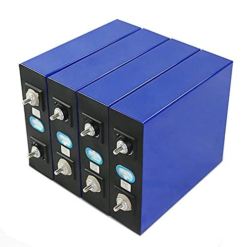 Batería De Fosfato De Hierro Y Litio De 4 Piezas, 4 Baterías De 3,2 V 300AH LiFePO4, Barcos, Caravanas, Carritos De Golf, Sistema Solar, UPS, Etc.