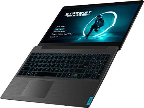 Product Image 3: ,Lenovo – IdeaPad L340 15 Gaming Laptop, Intel Core i5 – 8GB Memory – NVIDIA GeForce GTX 1650 – 256GB Solid State Drive – Black