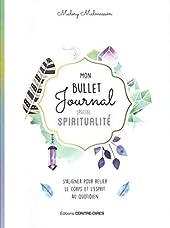 Mon bullet journal spécial spiritualité de Malory Malmasson