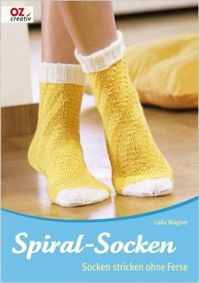 Spiral-Socken: Socken stricken ohne Ferse ( MŠrz 2009 )