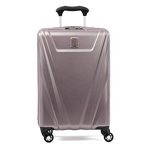 Travelpro Maxlite 5-Hardside Spinner Wheel Luggage, Dusty Rose, Non-Expandable Carry-On 21-Inch