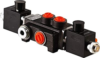1 Spool Hydraulic Solenoid Directional Control Valve 13gpm 12VDC, monoblock by Arshydro