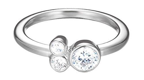 Esprit Damen-Ring 925 Sterling Silber Zirkonia sweet parfait weiß